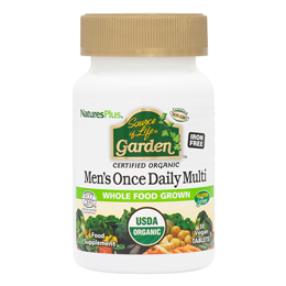 Nature`s Plus Source of Life Garden Organic Men`s Once Daily Multi - 30 Tablets