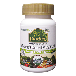 Nature`s Plus Source of Life Garden Organic Women`s Once Daily Multi - 30 Tablets