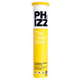 PHIZZ Rehydration + Vitamins & Minerals - 20 Effervescent Tablets