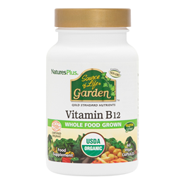 Nature`s Plus Source of Life Garden Organic Vit B-12 - 60 x 1000mcg Caps