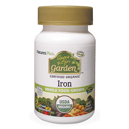 Nature`s Plus Source of Life Garden Organic Iron - 30 x 18mg Capsules