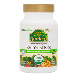 Nature`s Plus Source of Life Garden Organic Red Yeast Rice - 60 x 600mg Caps