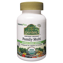 Nature`s Plus Source of Life Garden Family Multi - 60 Chewable Tablets