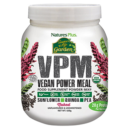 Nature`s Plus Source of Life Garden VPM Naked Protein - 630g Powder