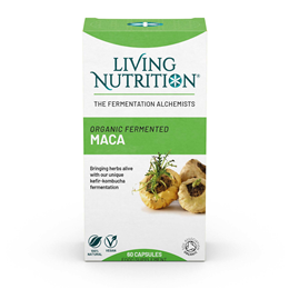 Living Nutrition Maca Alive - 60 Capsules