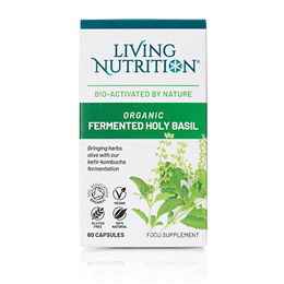 Living Nutrition Holy Basil Alive - 60 Capsules