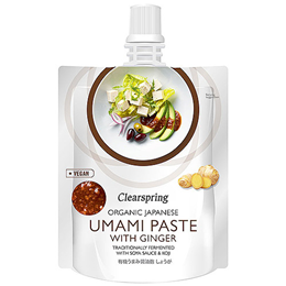 Clearspring Organic Japanese Umami Paste with Ginger - 150g