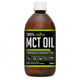 Natures Aid 100% MCT Oil - Premium Coconut Oil - 500ml