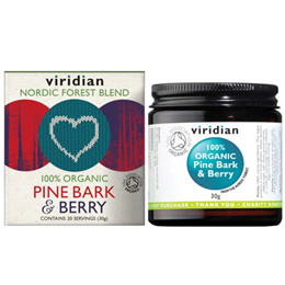 Viridian Organic Pine Bark & Berry Powder - 30g