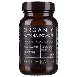 KIKI Health Organic Premium Ceremonial Matcha Powder - 30g - Best before date is 31st January 2019