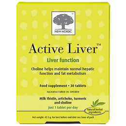 New Nordic Active Liver - Liver Function - 30 Tablets