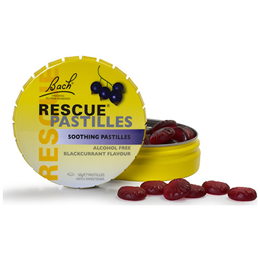 Bach RESCUE Pastilles - Blackcurrant - 50g
