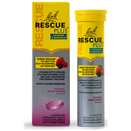 Bach RESCUE PLUS - Mixed Berry - 15 Effervescent Tablets