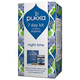 Pukka Organic Night Time 7 Day Kit - Best before date is 31st October 2019