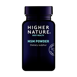 Higher Nature MSM Dietary Sulphur - 200g Powder