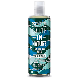 Faith in Nature Fragrance-Free Sensitive Shampoo for All Hair Types - 400ml