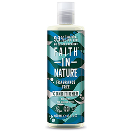 Faith in Nature Fragrance-Free Sensitive Conditioner for All Hair Types - 400ml
