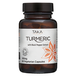 TAKA Turmeric with Black Pepper Extract - 60 Capsules