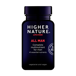 Higher Nature True Food All Man - 30 Vegicaps