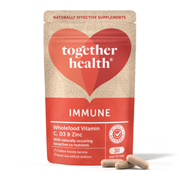 Together Immune - Vit C, Zinc & Selenium - 30 Vegicaps