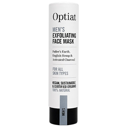 Optiat Organic Men`s Exfoliating Hemp Face Mask - 30g