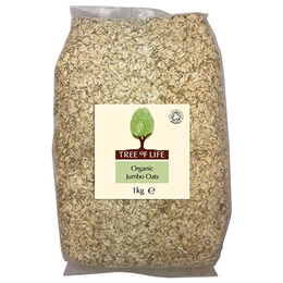 Tree of Life Organic Jumbo Oats - 1kg