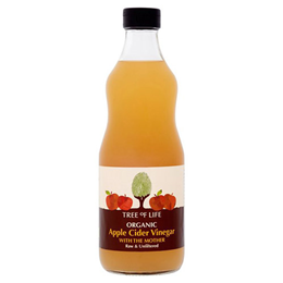 Tree of Life Organic Apple Cider Vinegar - With the Mother - 500ml