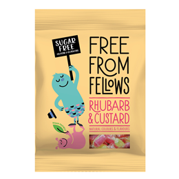 Free From Fellows Rhubarb & Custard - 70g