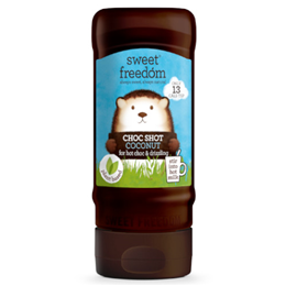 Sweet Freedom Choc Shot - Coconut - 320g