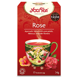 Yogi Tea Organic Rose - 17 Teabags