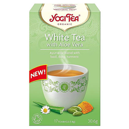 Yogi Tea Organic White Tea with Aloe Vera - 17 Teabags