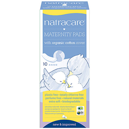 Natracare Organic Maternity Pads - 10 Pack