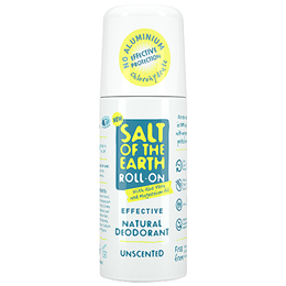 Salt of the Earth Unscented Roll-On Deodorant - 75ml