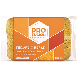 Profusion Turmeric Bread - Organic Rice & Millet - 250g