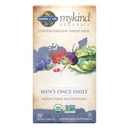Garden of Life mykind Organics - Men`s Once Daily - 30 Tablets
