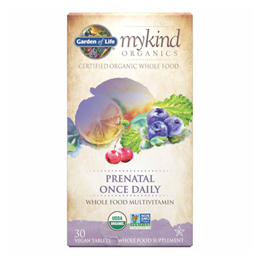 Garden of Life mykind Organics - Prenatal Once Daily - 30 Tablets
