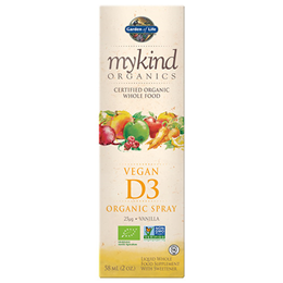 Garden of Life mykind Organics - Vegan Vitamin D3 1000iu Spray - 58ml