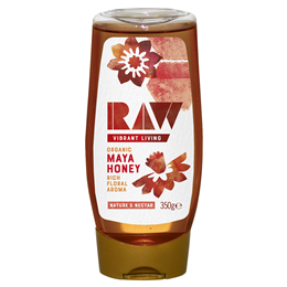 Raw Health Organic Raw Maya Honey Squeezy - 350g