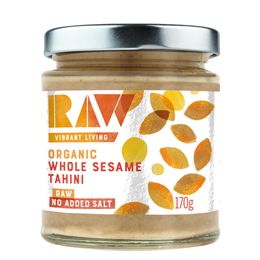 Raw Health Organic Whole Sesame Tahini - 170g