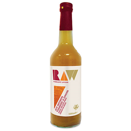 Raw Health Organic Apple Cider Vinegar with Turmeric & Ginger - 500ml