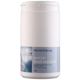 Higher Nature Special Dead Sea Soak - Ancient Sea Mineral Bath - 1000g