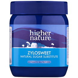 Higher Nature ZyloSweet - Xylitol crystals - Natural Sweetener - 300g