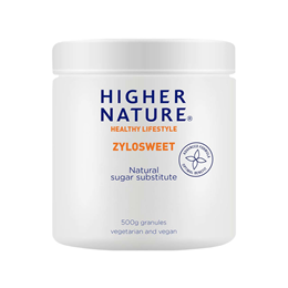Higher Nature ZyloSweet - Xylitol crystals - Natural Sweetener - 500g