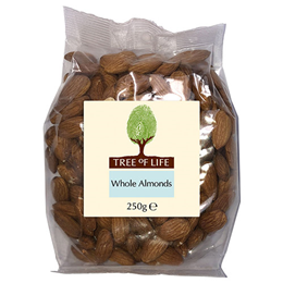 Tree of Life Whole Almonds - 250g