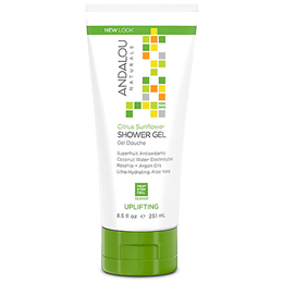 Andalou Citrus Sunflower Shower Gel Uplifting - 251ml