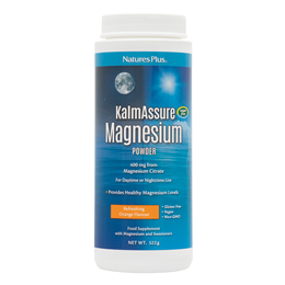Nature`s Plus KalmAssure Magnesium Powder - Orange Flavour - 522g