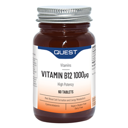 Quest Vitamin B12 - 60 x 1000mcg Tablets