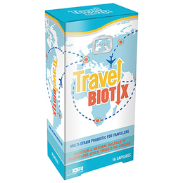 Quest TravelBiotix - 16 Capsules - Best before date is 31st March 2020