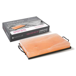 Westlab Himalayan Pink Salt Cooking Block - Rectangle