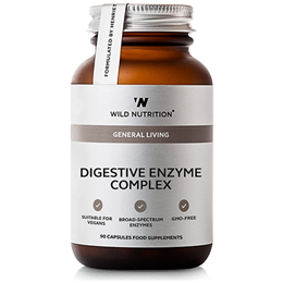 Wild Nutrition Digestive Enzyme Complex - 90 Capsules
